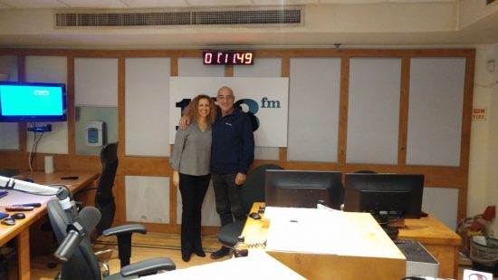 פנינה ארד מתארחת בתוכנית הרדיו: שיחות לילה עם אבי כץ