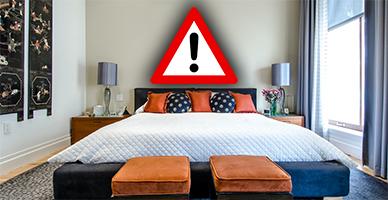 סכנה בחדר השינה